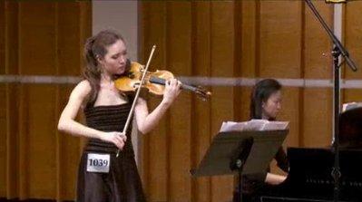 新唐人第三屆「全世界華人小提琴大賽」選播(下)
