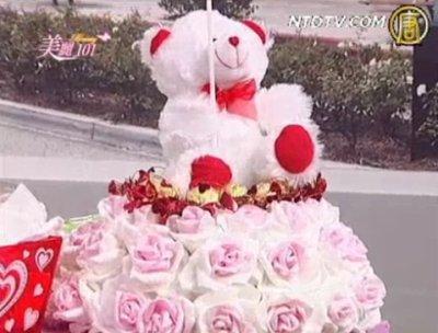 【美麗101】情人節禮物DIY:巧克力玫瑰花壇