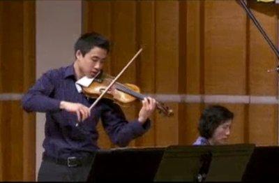 新唐人第三屆「全世界華人小提琴大賽」选播(上)