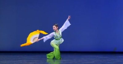 新唐人系列大賽精彩回顧:中國古典舞(12)