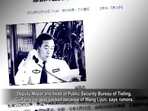 【禁聞】谷鳳傑落馬 傳與王立軍有關