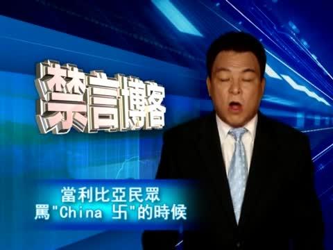 """【禁言博客】當利比亞民眾罵""""China 卐""""的時候"""