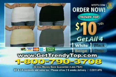【廣告】Trendy Top(英文)