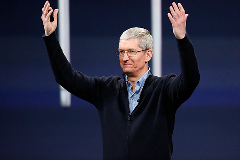 Tim Cook(Photo by Stephen Lam/Getty Images)