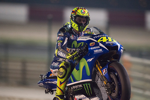 Valentino Rossi (Photo by Mirco Lazzari gp/Getty Images)