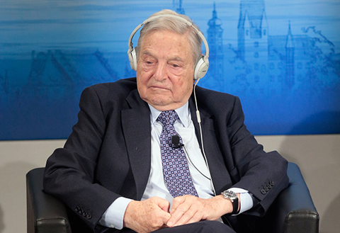 George Soros (Photo by Johannes Simon/Getty Images)