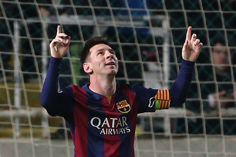 Lionel Messi (Photo by PATRICK BAZ/AFP/Getty Images)