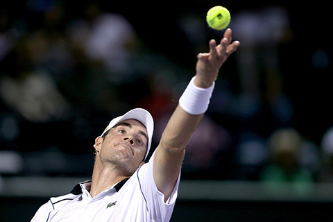 John Isner (Photo by Matthew Stockman/Getty Images)