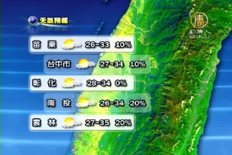 7月5日天氣預報