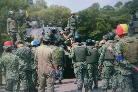 驚傳CM11戰車砲管爆炸 漢光全面停止演訓(國防部提供)