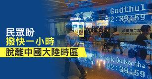 民眾盼撥快一小時 脫離中國大陸時區|台灣速速看