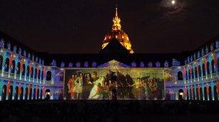 傷兵院之夜光雕秀 演繹巴黎歷史