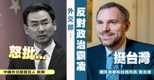 中共跳腳布拉格市長挺台 外交部:反對政治霸凌 台灣速速看
