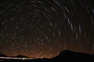 合歡山的夜空(畫面來源:國際黑暗天空協會IDA)