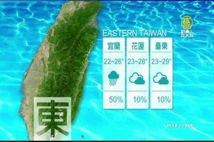 10月15日天氣預報