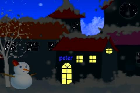 小小寶貝聖誕快樂動畫